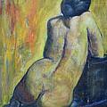 Tiina - Back Of Nude Woman by Raija Merila