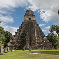 Tikal Pyramid 1j by Michael Bessler