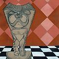 Tiki Statue Art by Chris McCullough