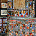 Tilework At The Castle by Dave Mills