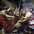 Time Defeated By Hope Love And Beauty by Simon Vouet