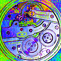 Time In Abstract 20130605m36 Square by Wingsdomain Art and Photography
