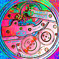 Time In Abstract 20130605p144 Square by Wingsdomain Art and Photography