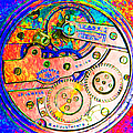 Time In Abstract 20130605p180 Square by Wingsdomain Art and Photography