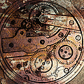 Time In Abstract 20130605rust Square by Wingsdomain Art and Photography