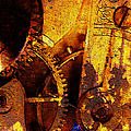 Time Keeps On Slipping Into The Future 20130716 Square by Wingsdomain Art and Photography