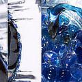 Time Line In Blue by Steve Karol