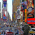 Time Square New York 20130503v4 by Wingsdomain Art and Photography