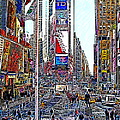 Time Square New York 20130503v6 by Wingsdomain Art and Photography
