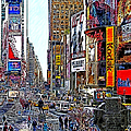 Time Square New York 20130503v7 by Wingsdomain Art and Photography
