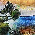 Time Well Spent - Medina Lake by Wendy J St Christopher