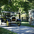 Timeless Beauty Vintage Model A Ford Tudor  by Inspired Nature Photography Fine Art Photography