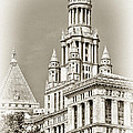 Timeless- New York City Hall by Regina Geoghan