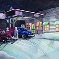 Times Past Gas Station by Rick Huotari