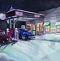 Times Past Gas Station by Rick Huotari