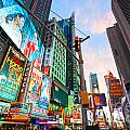 Times Square - New York City by Luciano Mortula