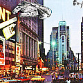 Times Square 1972 Reloaded by Helge