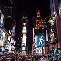 Times Square by Angus Hooper Iii