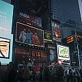 Times Square At Night by Teresa Mucha