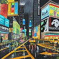 Times Square by Bev Conover