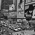 Times Square Bw by Galexa Ch
