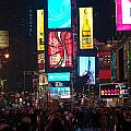 Times Square Crowds by Paul Mangold