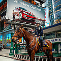 Times Square Horse Power by Ray Warren