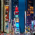 Times Square I by Ray Warren