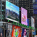 Times Square - Looking South by Paulette B Wright