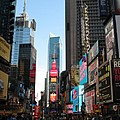 Times Square - New York I by Christiane Schulze Art And Photography