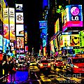 Times Square by Rebekah Wilson