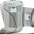 Tin Can Communication by Gravityx9  Designs