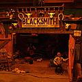 Tinkertown Blacksmith Shop by Jeff Swan