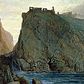 Tintagel On The Cornish Coast by W T Richards