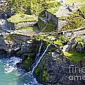 Tintagel Waterfalls by Rod Jones
