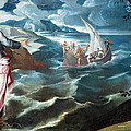 Tintoretto's Christ At The Sea Of Galilee by Cora Wandel