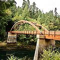 Tioga Bridge Over North Umpqua River by Scott Pellegrin