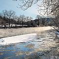 Tioughnioga River Landscape by Christina Rollo