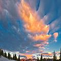 Tipsoo Sunrise by Don Hall