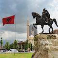 Tirana, Albania. Skanderbeg Square by Ken Welsh