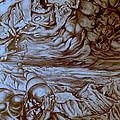 Titan In Desert by Mikhail Savchenko