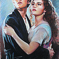 Titanic Jack And Rose by Viola El