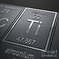 Titanium Chemical Element by Science Picture Co