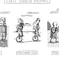 Title: Early Exercise Machines. Three Early by Zachary Kanin