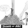 Title: Joanie Of Arc. A Teenage Joan Of Arc Rests by Danny Shanahan