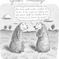 Title: Just Asking One Woodchuck Says To Another by Roz Chast