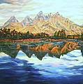 Titon Reflections by Richard Nowak