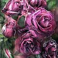 To Be Loved - Mauve Rose by Carol Cavalaris