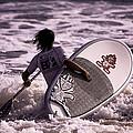 Catch The Next Wave  by Ola Allen