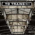 To Trains by John Rizzuto